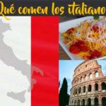¿Qué comen los italianos?