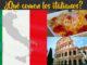 qué comen los italianos italia comida gastronomia
