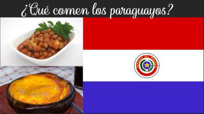 que comen los paraguayos paraguay comida paraguaya latinoamerica mandioca yuca tapioca poroto frijol bayo pan de maiz maiz vico vico