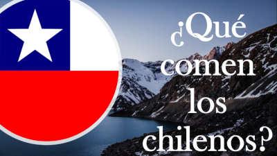 qué comen los chilenos chile chilenas chileno chilena chilenitos cordillera andina andes suramerica america del sur