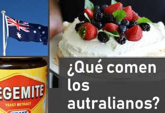 qué comen los australianos australia pavlova vegemite oceania australiana australiano playa